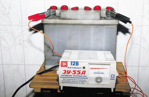Особенности зарядки автомобильных аккумуляторов. http://sevbat.com...