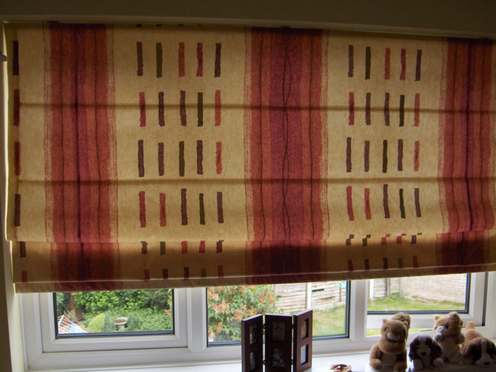 Как сшить шторы как жалюзи 5