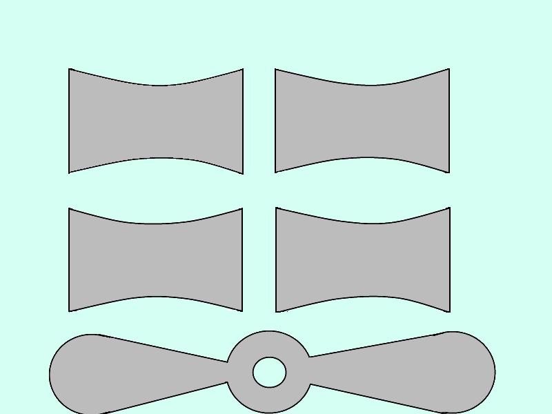 perimetr: как вырезать из бумаги самол