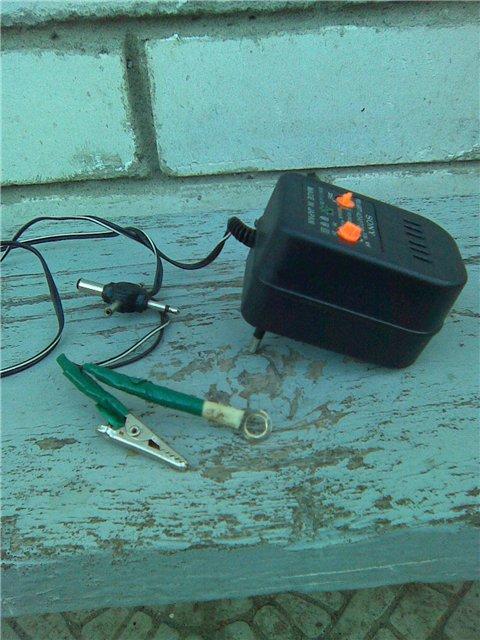 Как реанимировать кислотный аккумулятор для скутера?