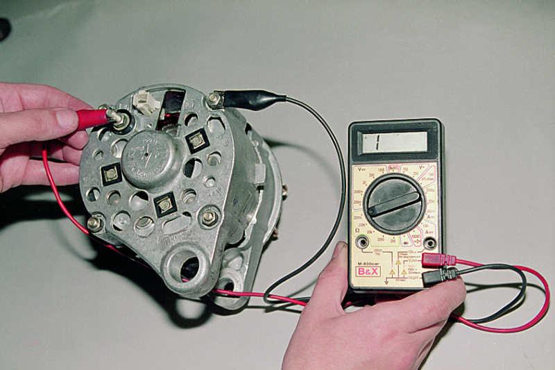 генератор не дает зарядку: