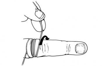 рис.2 Як зняти кільце