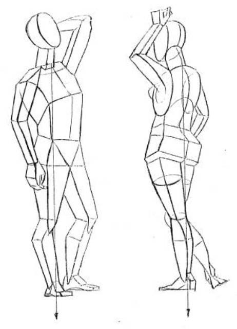 Как правильно рисовать эскизы одежды