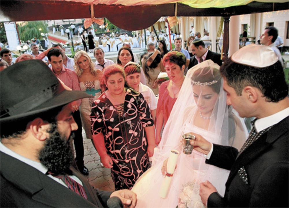 У меня была еврейская свадьба