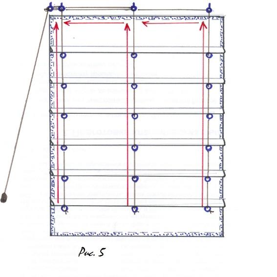 Механизм римские шторы своими руками 97