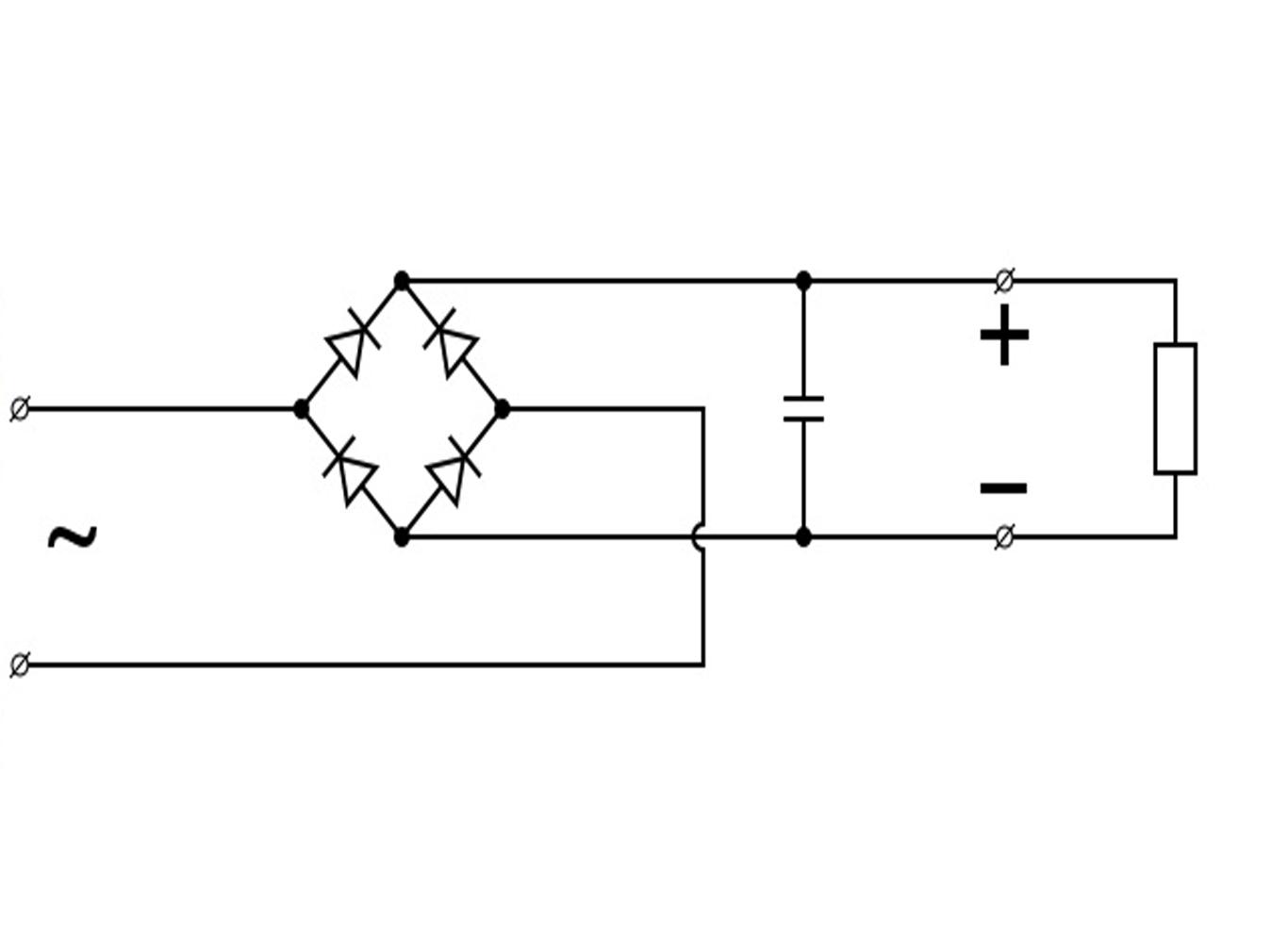 Переменный в постоянный ток схема фото 242