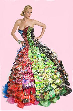 """""""Как сделать платье из обычного платка."""