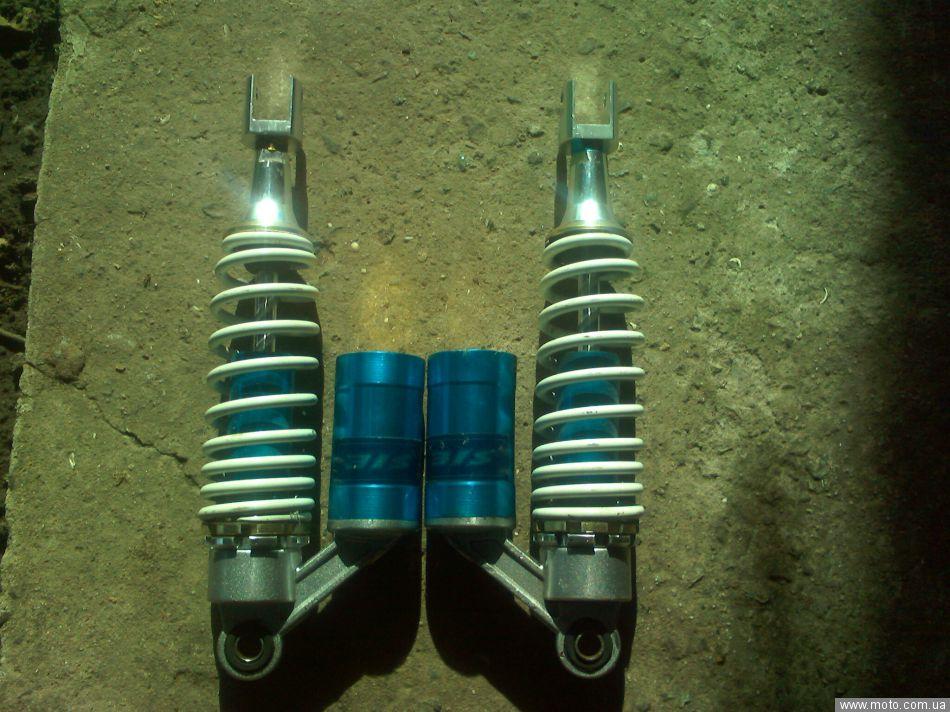 skuttle: газо-масляные амортизаторы