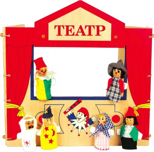 Как в домашних условиях сделать кукольный театр своими руками фото 709