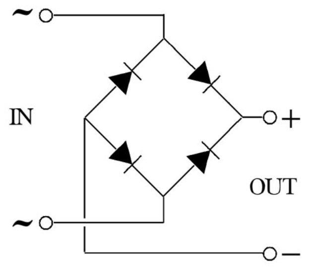 Сегодня перестал давать зарядку замыканий наш диодный мост.  Если после моста кврс конденсатор.