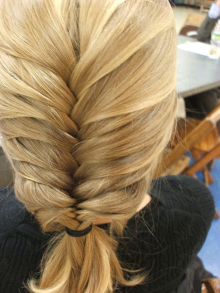 Плетение кос мастер-класс в фото