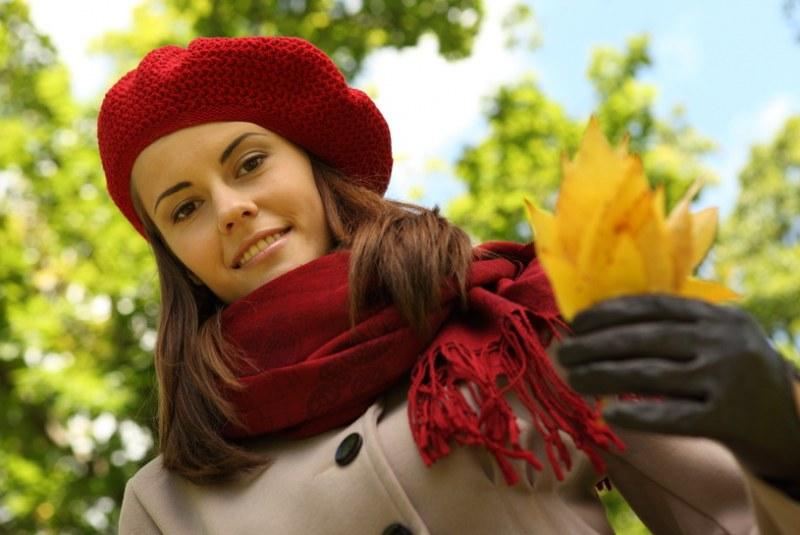 Как подобрать цвет шарфа
