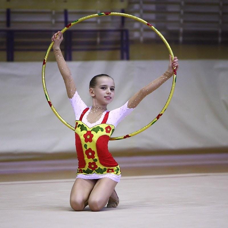 Обруч своими руками для гимнастики