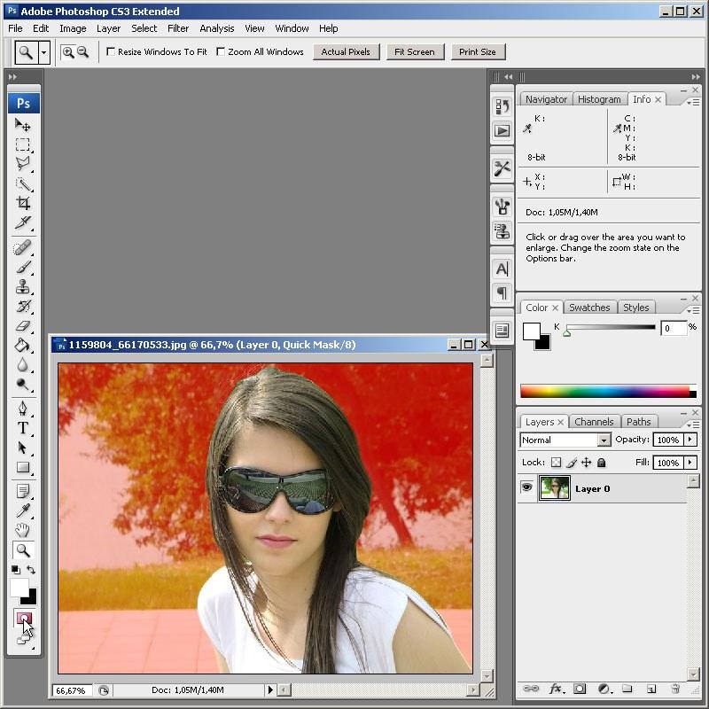 Как сделать фон серым в фотошопе