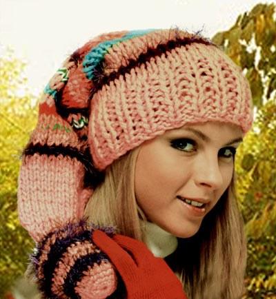 вязаные зимние шапки схемы