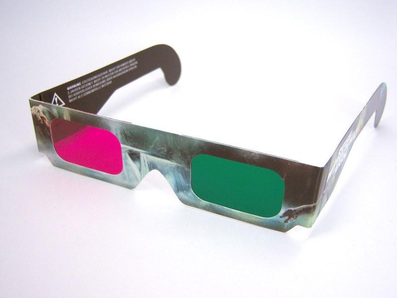 Как сделать 3 д очки