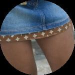 как удлинить юбку в складку<br />