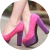 Звездный стиль: цветные туфли