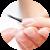 Модная классика: французский маникюр для коротких ногтей
