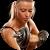 Простые упражнения с гантелями