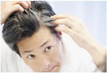 Причина седых волос в  лет у