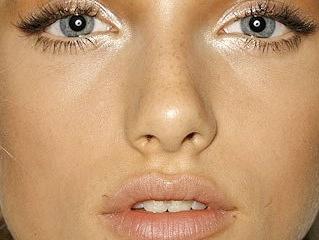 Как сделать макияж что глаза казались большими 164