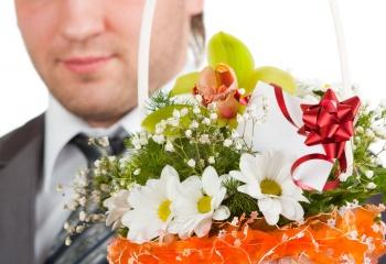 Дарите мужчинам цветы