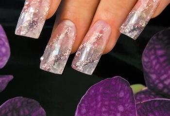 Что такое аквариумный дизайн ногтей