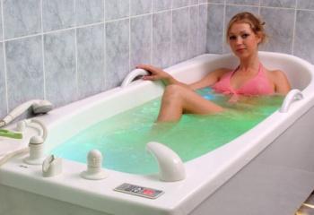 Гимнастика в ванне