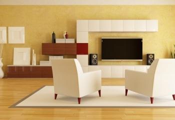 Телевизор в интерьере - показать или прятать?