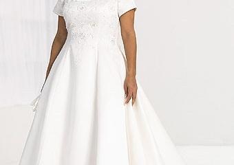 Свадебное платье для полных девушек
