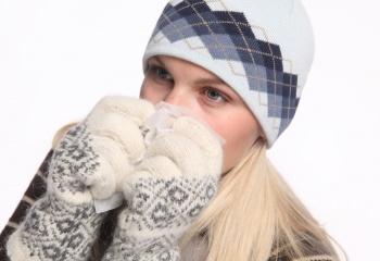 Проявления аллергии на холод