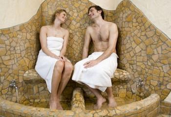 Водные процедуры: баня и душ