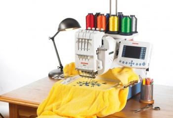 Как выбрать вышивальную машинку