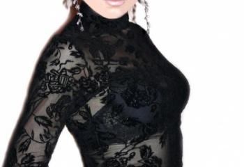 Как носить кружевную одежду