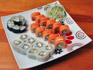Романтический ужин по-японски