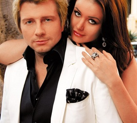 Звездные пары: Николай Басков и Оксана Федорова