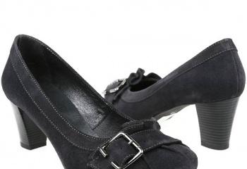 Выбираем туфли на низком каблуке