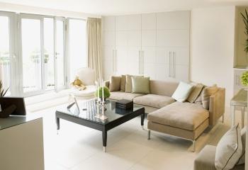 Модный интерьер гостиной комнаты