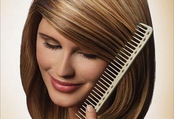 Блеск волос при помощи натуральных средств