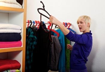 Устраиваем разбор гардероба
