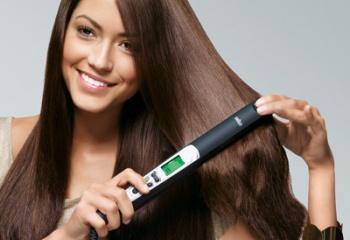 Как идеально выровнять волосы утюжком