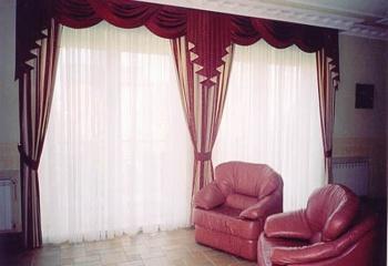 Как раскроить шторы