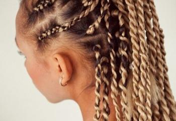 фото причёски из косичек