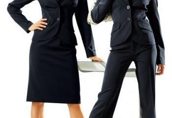 Базовый гардероб: деловой костюм