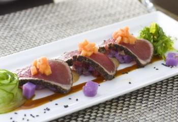 Блюда из тунца свежего