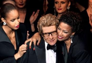 Персона: Ив Сен Лоран в мире Высокой моды