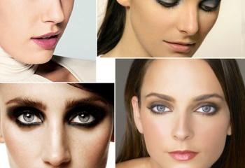 Правильный и модный макияж smoky eyes