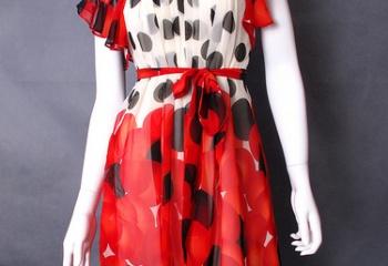 Обновляем старое платье с фото