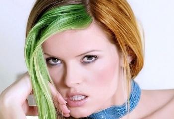 Окраска волос безопасными красителями